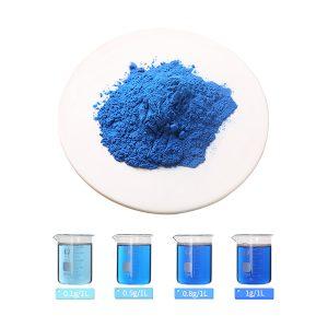 spirulina extract phycocyanin E10 and aqueous solution