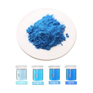 spirulina extract phycocyanin E6 and aqueous solution