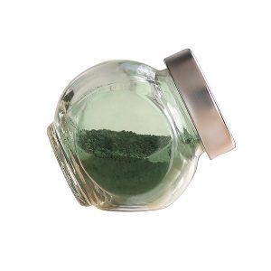 spirulina superfine powder in the bottle