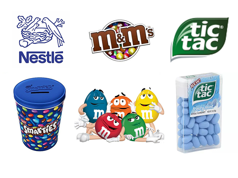 Nestlé, Mars' and Tic Tac Shift to Clean Snacking Fuels Candy Market Rebound