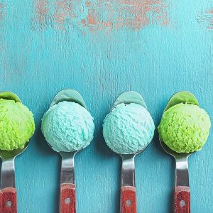 blue spirulina used in ice cream