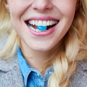 Phycocyanin used in candy